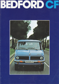 CF Vans brochure, 8 pages, about 1975, Dutch language