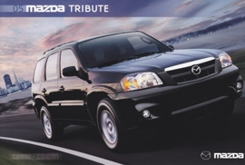 Tribute SUV, 2005, US postcard, A5-size