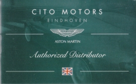 all models, small size 12 page brochure by Dutch dealer Cito Motors, 9 x 5,5 cm