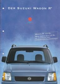Wagon R + brochure, 16 pages, 07/1998, German language
