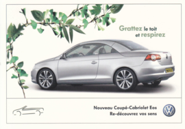 Coupe-Cabriolet Eos, DIN A6-size, French issue, # VWP660
