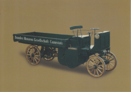 Daimler truck 4hp 1898, Classic Car(d) of the month 12/2002, Germany