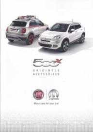 500 X accessories brochure, 36 pages, A4-size, 02/2015, Dutch language