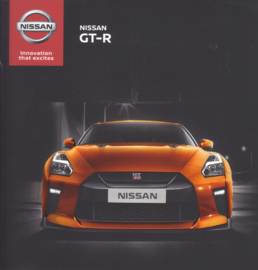 GT-R sportscar brochure, 36 pages, 11/2016, German language
