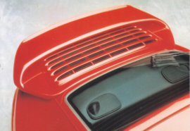 Tequipment - 911 Turbo spoiler postcard,  DIN A6-size, issued mid 1990s