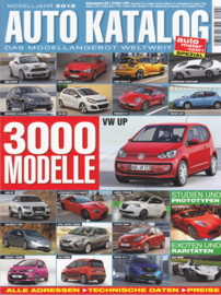 Auto Katalog by Auto Motor & Sport, Issue # 55, 292 pages, 2012, German language