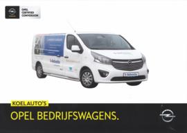 Commercials with temperature control leaflet, 2 pages, DIN A4-size, 2015, Dutch language