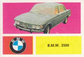 BMW 2500 Sedan, 4 languages, # 29