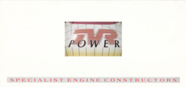 TVR Power (engine specialists), 4 pages, English language, about 1989 *
