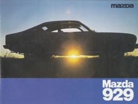 929 brochure, 12 pages, 2/1976, Dutch language