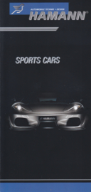 Hamann sports cars brochure, 6 pages, German language, nice