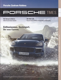 Porsche Times magazine, # 2-2014, 22 pages, PC Koblenz