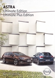 Astra Ultimate/Plus Edition brochure, 4 pages, 07/2015, Belgium (Dutch)