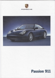 911 Carrera brochure, 144 pages, 09/2001, hard covers, German