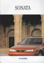Sonata brochure, 20 pages, 1992, German language (Suisse)