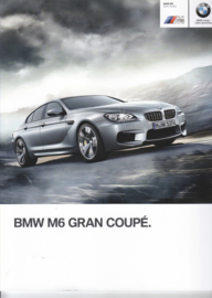 M6 Grand Coupé brochure,  50 pages, 2-2013, Dutch language