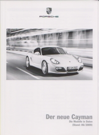 Cayman pricelist, 90 pages, 06/2009, WPLI 1001 0002 11, German