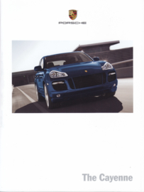 Cayenne/S/GTS/Turbo brochure 2009, 174 pages, MKT 001 137 08, USA, English