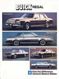 Regal 1984 models, 2 pages, 09/1983, German language