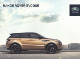 Evoque brochure, 84 pages, A4-size, 2014, Dutch language