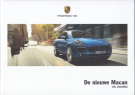 Macan model brochure, 136 pages, 03/2014, hard covers, Dutch