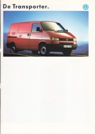 Transporter brochure, 28 pages,  A4-size, Dutch language, 12/1991