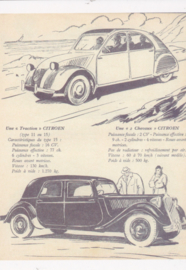 Citroen 2CV & Traction Avant, DIN A6-size, unused, Dutch issue, 2008