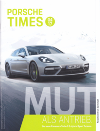 Porsche Times magazine, # 4-2017, 24 pages, PC Darmstadt
