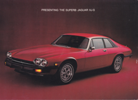 XJ-S brochure, 4 pages, 2/1977, USA, English language