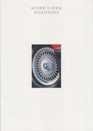 3-Series accessories brochure, 10 pages, A4-size, 2/1992, Dutch language