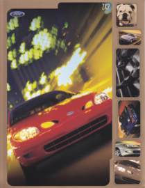 ZX2 leaflet, 2 pages, English language, 2000, USA