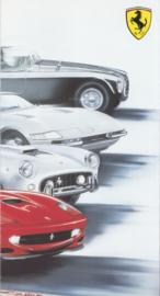 Ferrari 550 Barchetta fold-out brochure, 6 pages, 2000, # 1617/00
