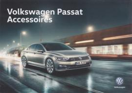 Passat accessories brochure, A4-size, 4 pages, 2019, Dutch language