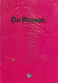 Passat brochure, 22 pages + specs. sheet,  A4-size, Dutch language, 12/1980