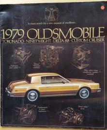 Toronado/98/Delta 88/Custom Cruiser 1979, 24 pages, 08/1978, USA