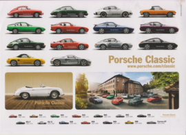 Classic models on stickers, large sheet, 2017, German