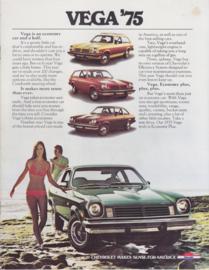 Vega, 12 pages, 09/1974, English language, USA