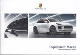 Macan Tequipment brochure , 80 pages, 04/2015, German