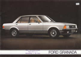 Granada brochure, 20 pages, 1/1980, Dutch language