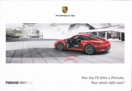 911 Carrera hire car - program inside folder, 4 pages, 06/2015, English