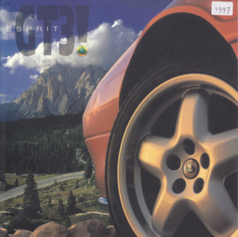 Esprit GT3!, 12 pages, factory-issued, circa 1997, English language