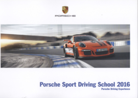 Sport Driving School 2016 brochure, 104 pages, 10/2015, English language