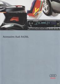 A4 & A6 accessories brochure, 4 pages, about 1996, Dutch language