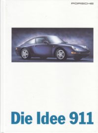 911 Carrera brochure, 88 pages, 08/1995, hard covers, German language