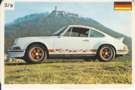 911 Carrera RS - number 3/a - size 10 x 6,5 cm, French/Dutch language