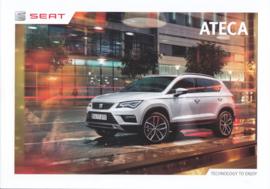 Ateca brochure, 68 pages, 09/2016, Dutch language (Belgium)