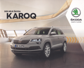 Karoq intro brochure, 24 pages, German language, 07/2017