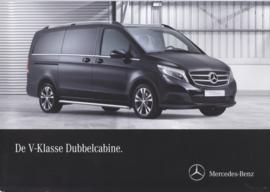 V-class double cab brochure, 6 pages, 06/2015, Dutch language