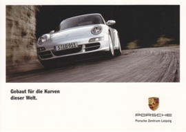 911 Carrera, A6 size postcard, Citycards, PC Leipzig, about 2007