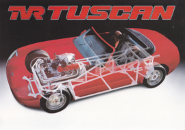 Tuscan Convertible leaflet, 2 pages, English language, about 1988